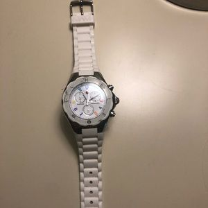Michele White Jelly MultiColor watch